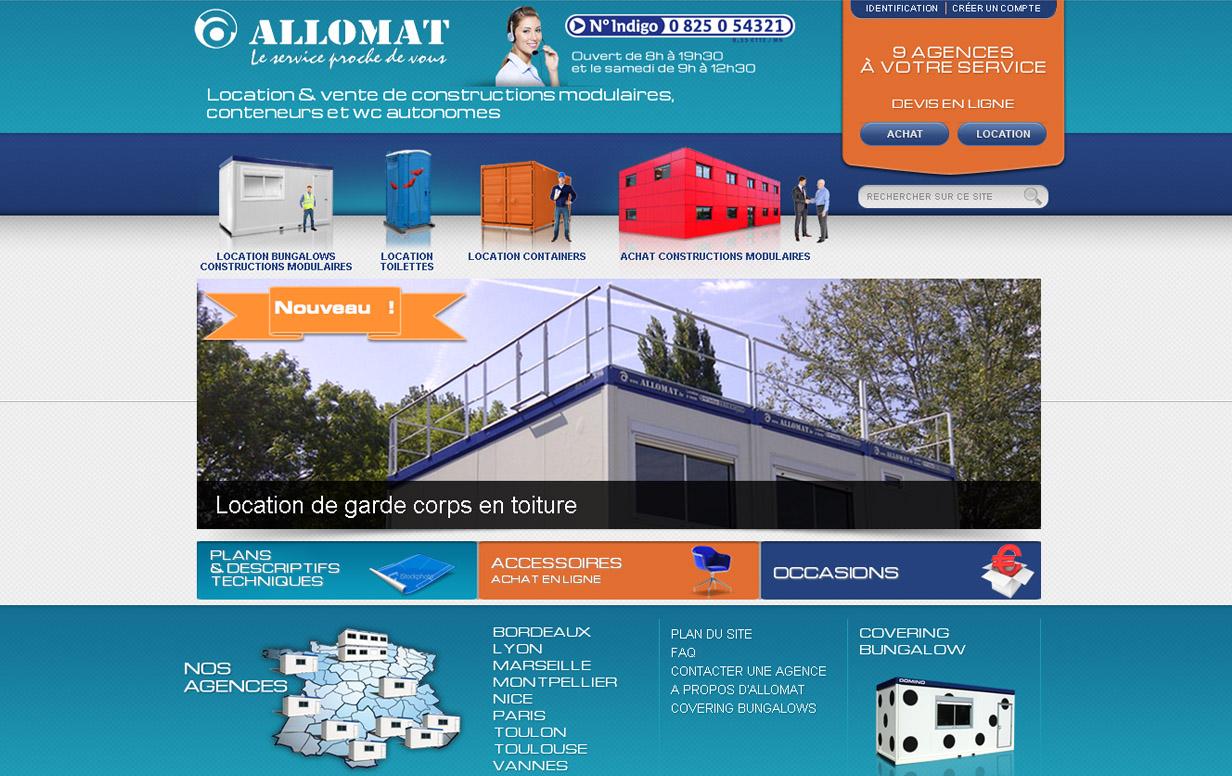ALLOMAT - Accueil