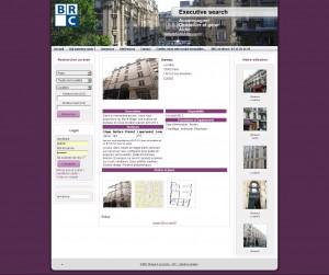 Site pour agence immobilière